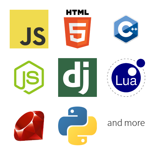 Online code editor for more than 25 programming languages